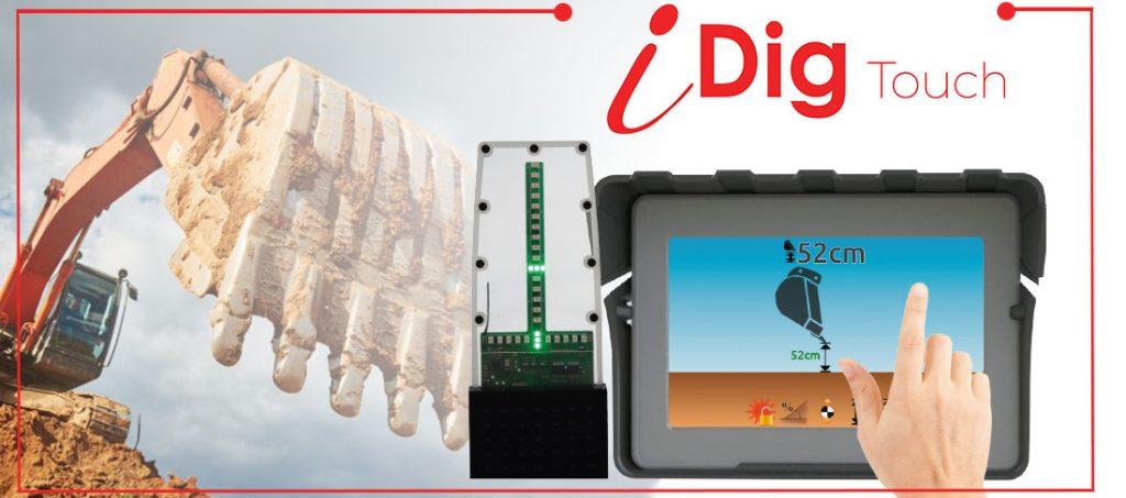 iDig sustav kontrole dubine kopanja